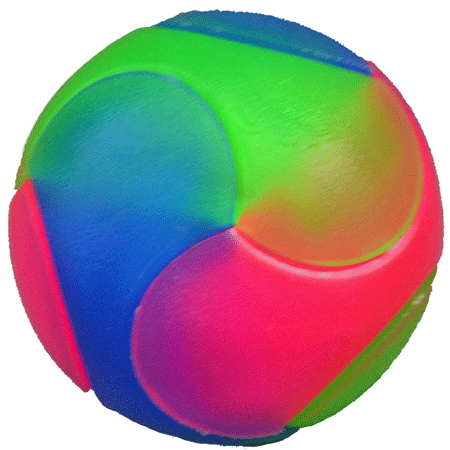 LIGHTNING BALL Geo 2.4in