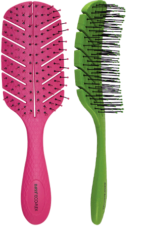 BASS BIO FLEX Detangle Brush Leaf