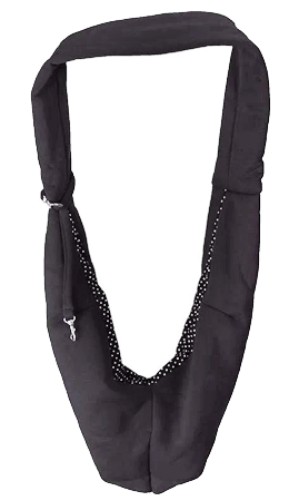 DOGLINE Pet Sling Black
