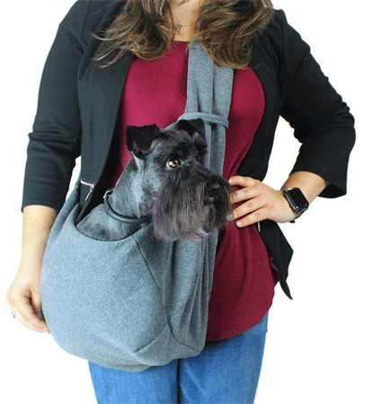 DOGLINE Pet Sling Grey