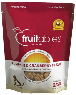 FRUITABLES Pumpkin & Cranberry Treat 7oz