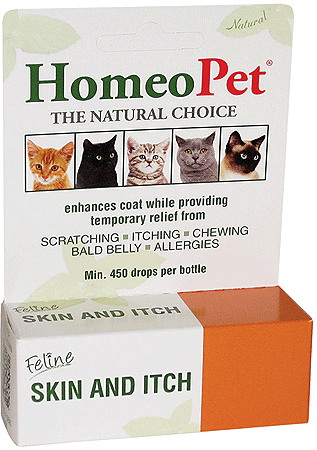 HOMEOPET Feline Skin and Itch 15ml