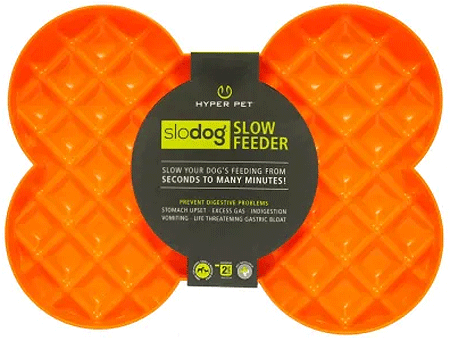 HYPER PET SloDog Slow Feeder Orange