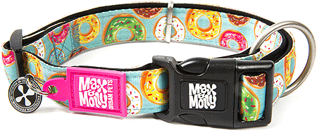 MAX&MOLLY Dog Collar - Donut L 15-24""