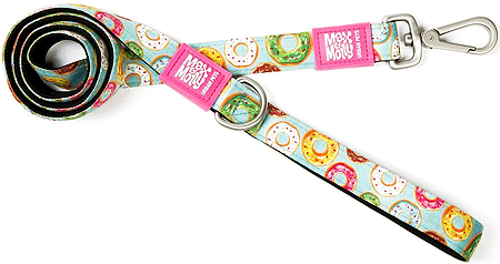 "MAX&MOLLY Dog Leash - Donut 2/3"" x 4'"