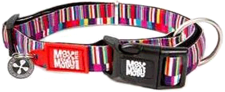 MAX&MOLLY Dog Collar - Shopping Time L 15-24""