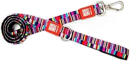 "MAX&MOLLY Dog Leash - Shopping Time 2/3"" x 4'"