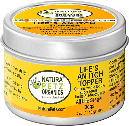 NATURA PETZ Life's An Itch! Meal Topper