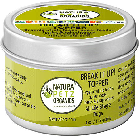 NATURA PETZ Break It Up! Meal Topper