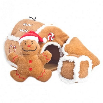 HOLIDAY OH Hide a Toy Gingerbread House
