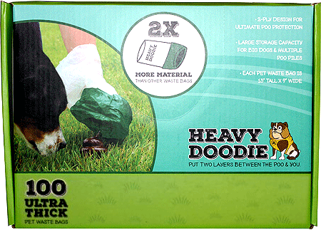 P.A.W. Heavy Doodie 100ct