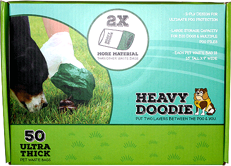 P.A.W. Heavy Doodie 50ct