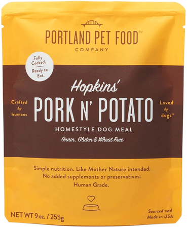 PORTLAND PET FOOD Pork N' Potato Meal Pouch 9oz 8pk