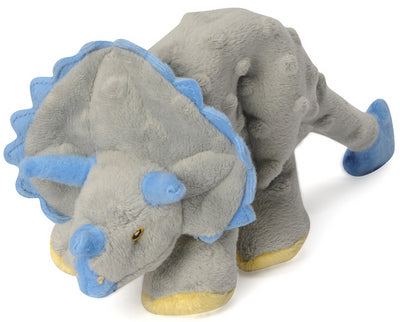 GO DOG Dinosaur  w/Chew Guard  Grey Triceratops