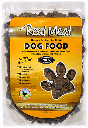 REAL MEAT COMPANY Air Dried Dog Food Chicken Recipe 2