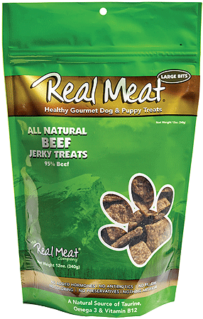 REAL MEAT Treats Beef 12oz