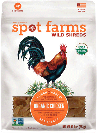SPOT FARMS Organic Wild Shreds Chicken 10oz