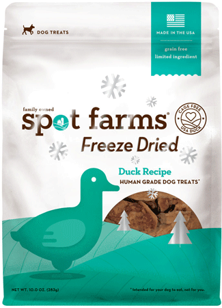 SPOT FARMS Freeze Dried Duck 10oz