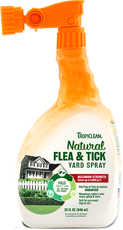 TROPICLEAN Natural Flea and Tick Yard Spray 32oz