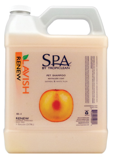 TROPICLEAN SPA Shampoo Renew Gallon