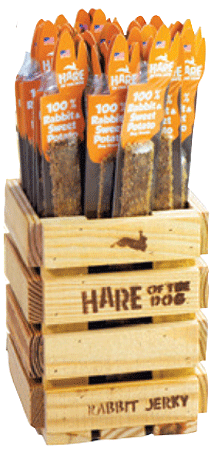 TREAT PLANET Hare of the Dog Jerky w Sweet Potato Starter Kit 36 Piece