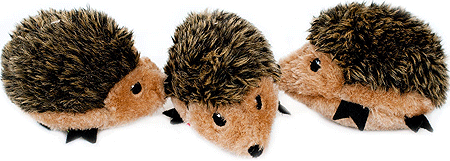 ZIPPYPAWS Zippy Miniz 3-Pack Hedgehogs