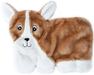 ZIPPYPAWS Squeakie Pup Corgi