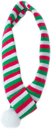ZIPPY PAWS Holiday Scarf Small