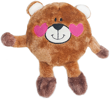 ZIPPY PAWS Valentines Brainey Bear In Love
