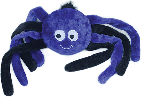 ZIPPY PAWS Halloween Grunterz - Purple Spider