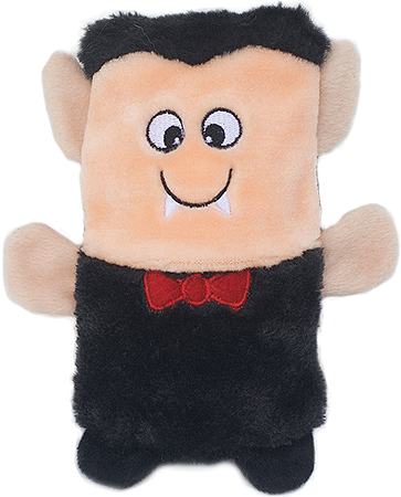 ZIPPY PAWS Halloween Colossal Squeaker Buddies - Dracula