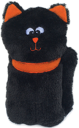 ZIPPY PAWS Halloween Colossal Squeaker Buddies - Black Cat