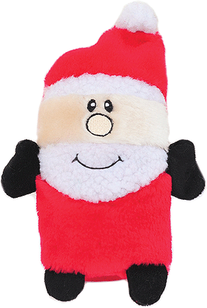 ZIPPY PAWS Holiday Colossal Squeaker Buddies - Santa