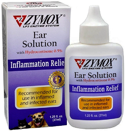 ZYMOX Ear Solution w/Hydrocortisone 1.25oz