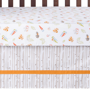 Gnome Boy 4 Piece Crib Bedding Set