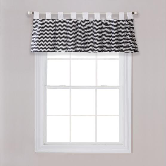 Bedtime Gray Window Valance