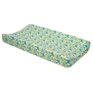 Changing Pad Cover - Dr. Seuss Blue Oh, The Places You'll Go!