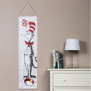 Dr. Seuss Cat in the Hat Canvas Growth Chart
