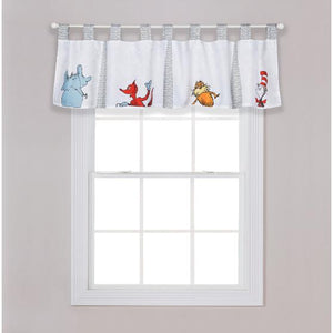 Dr. Seuss Friends Window Valance
