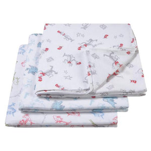 Dr. Seuss Muslin Swaddle Blanket 3 Pack
