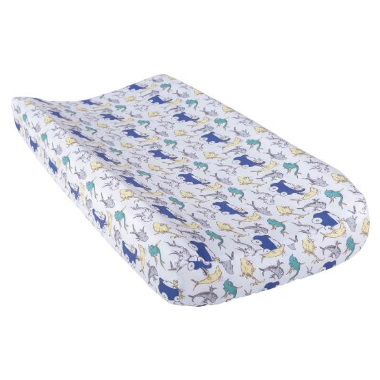 Dr. Seuss New Fish Changing Pad Cover