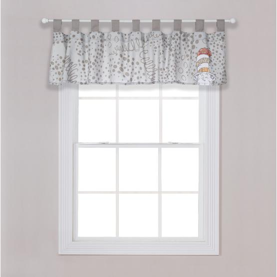 Dr. Seuss Peek-a-Boo Cat in the Hat Window Valance