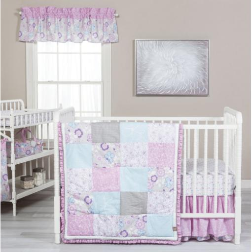 Grace 5 Piece Crib Bedding Set