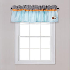 Let's Go Camping Window Valance