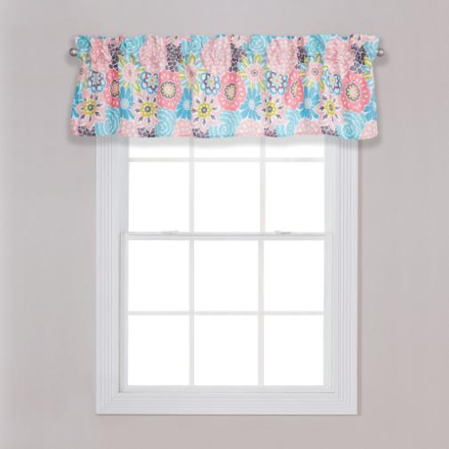 Waverly Blooms Window Valance
