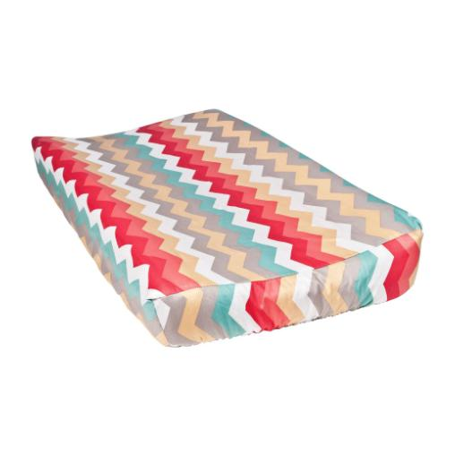 Waverly Pom Pom Play Chevron Changing Pad Cover