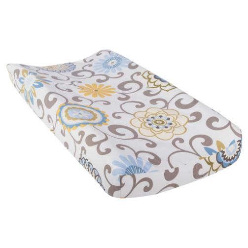 Waverly Pom Pom Spa Changing Pad Cover