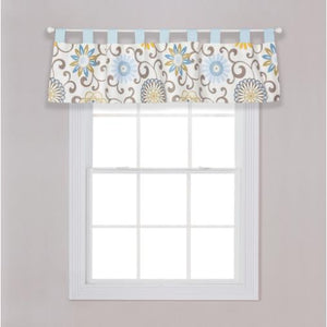 Waverly Pom Pom Spa Window Valance