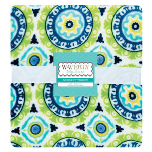 Waverly Solar Flair Plush Throw Blanket