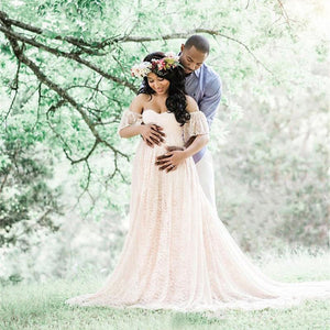 Long Maternity Dress for Weddings/Photoshoots/BabyShowers